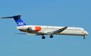 SAS Scandinavian Airlines McDonnell Douglas MD 81 SE DIS