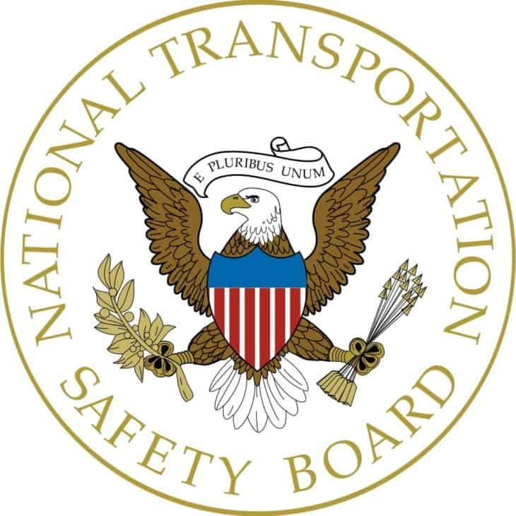Seal of the United States National Transportation Safety Board