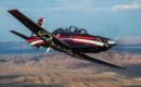 Textron Beechcraft T 6C Texan II.
