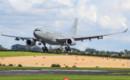 ZZ338 RAF Airbus KC2 Voyager landing.