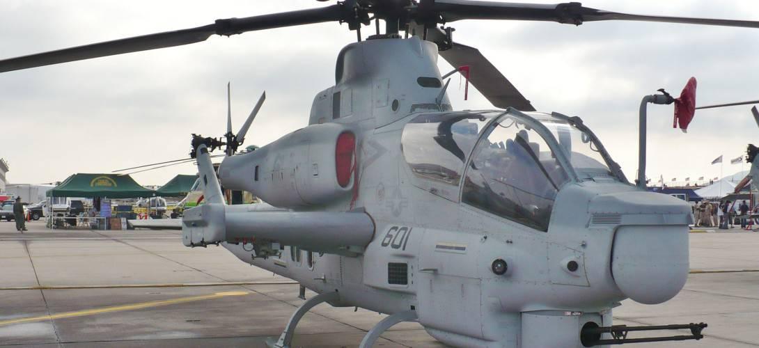 AH 1Z on display at the MCAS Miramar airshow