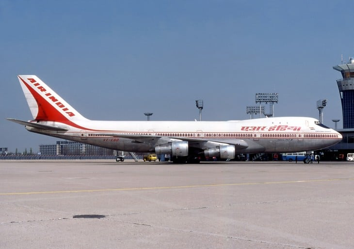 Air India VT EBD the aircraft involved in the accident.