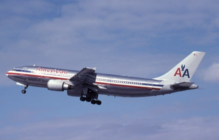 American Airlines Flight 587 Airbus A300 N14053 the aircraft involved in January 2001.