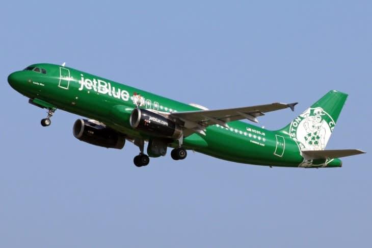 Boston Celtics JetBlue N595JB