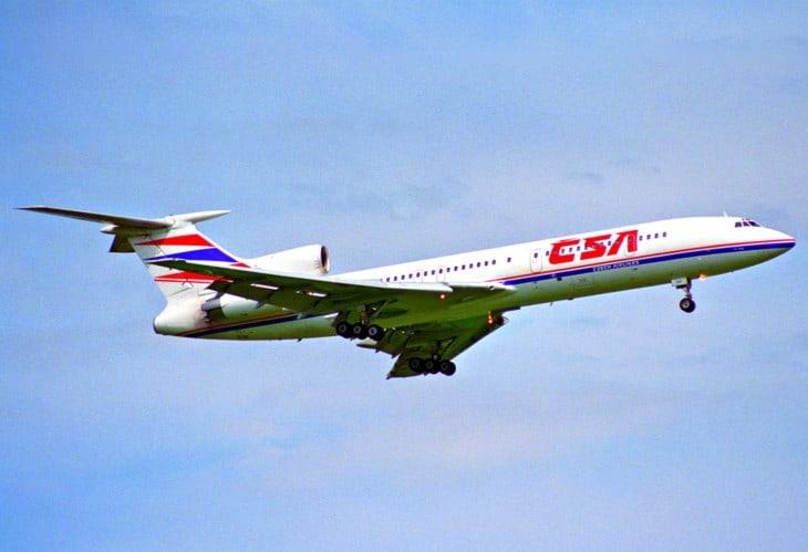 CSA Czech Airlines Tupolev 154M OK UCF