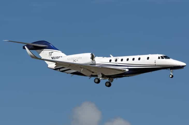 Cessna 750 Citation X Plus N510CX