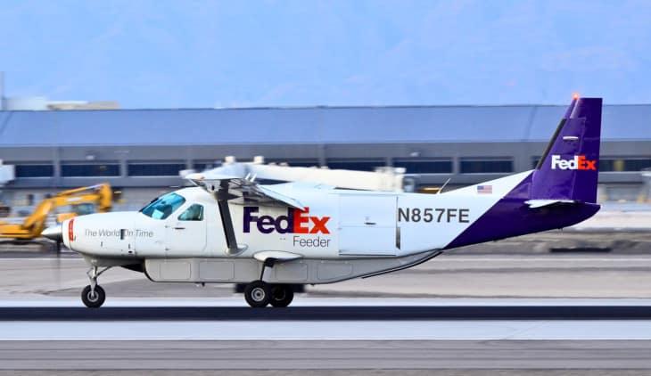 FedEx Feeder Cessna 208B Super Cargomaster N857FE
