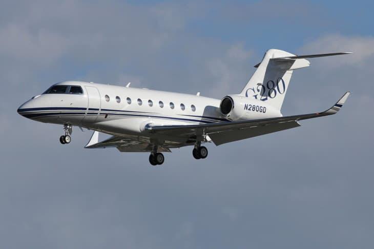 Gulfstream G280 N280GD