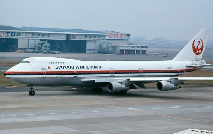 JA8119 the aircraft envolved in the accident on August 12th 1985 killing 520 people