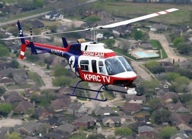 KPRC TV Bell 206L4 N420TV