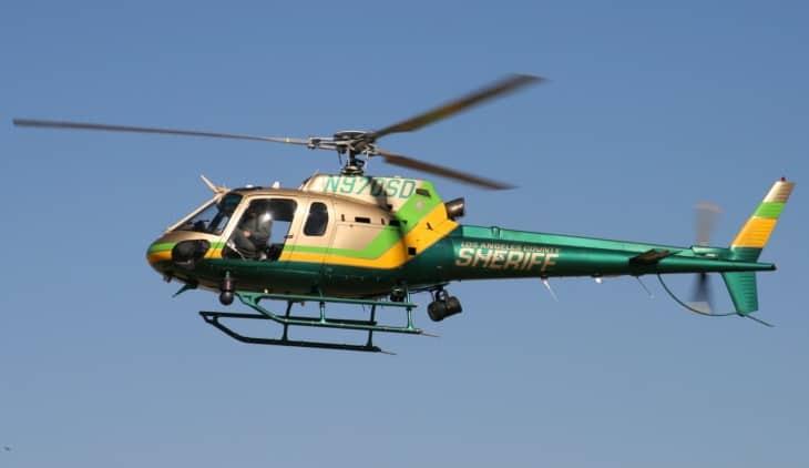 LA County Sheriff Eurocopter AS 350B2 Ecureuil
