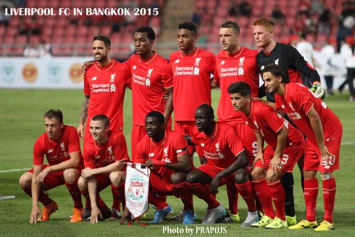 Liverpool FC in Bangkok 2015