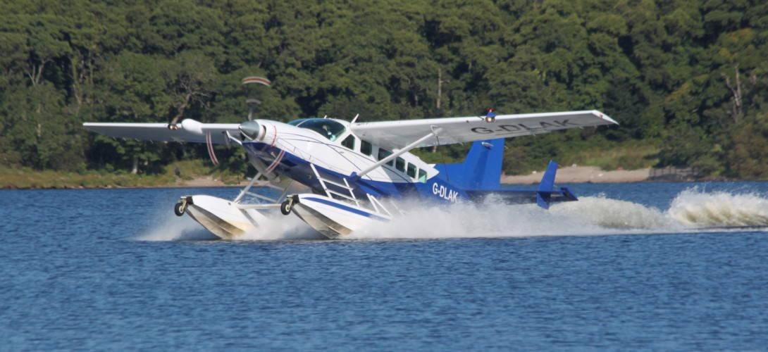 Loch Lomond Seaplanes Cessna 208 Caravan Amphibian G DLAK. 1