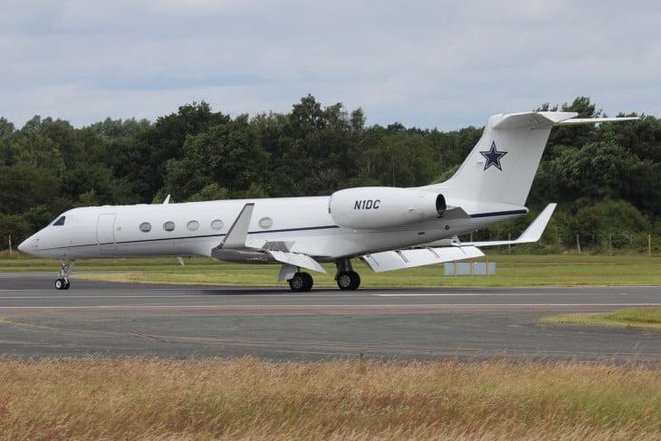 NFLs Dallas Cowboys owners Gulfstream G500