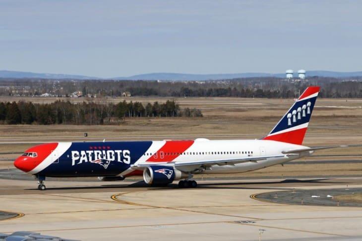 New England Patriots B767 323