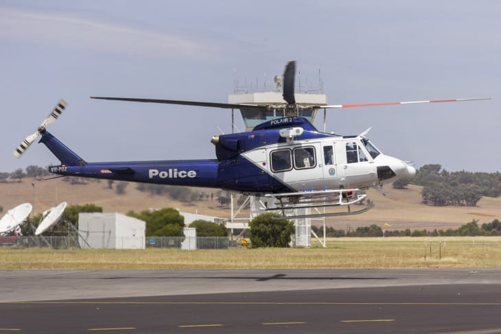 New South Wales Police Bell 412 EPI