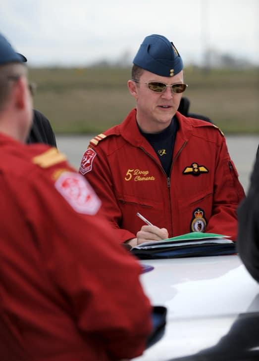 RCAF Snowbird Pilots