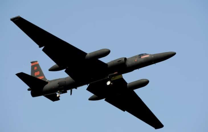 USAF U 2 Dragon Lady 5th Reconnaissance Squadron