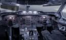 Airbus 300B Flight Deck