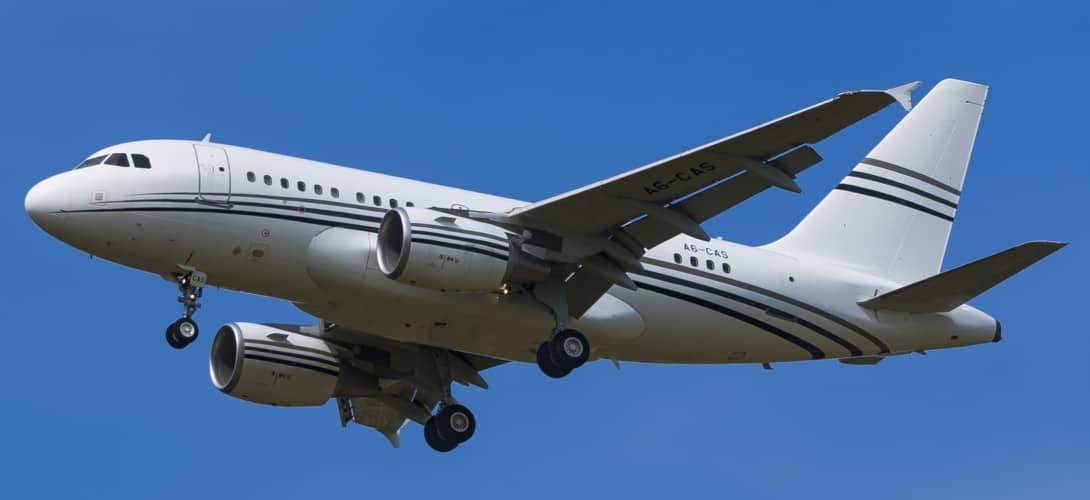 Airbus A318CJ Elite