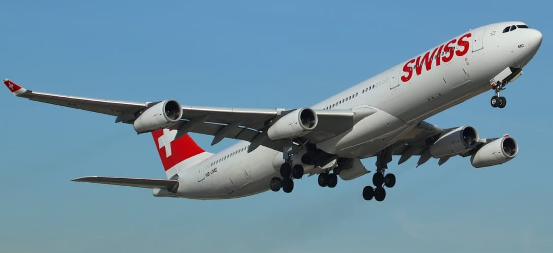 Airbus A340 300 swiss