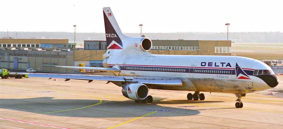 Delta Air Lines Lockheed TriStar 500