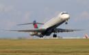 Delta MD 90 lifts off