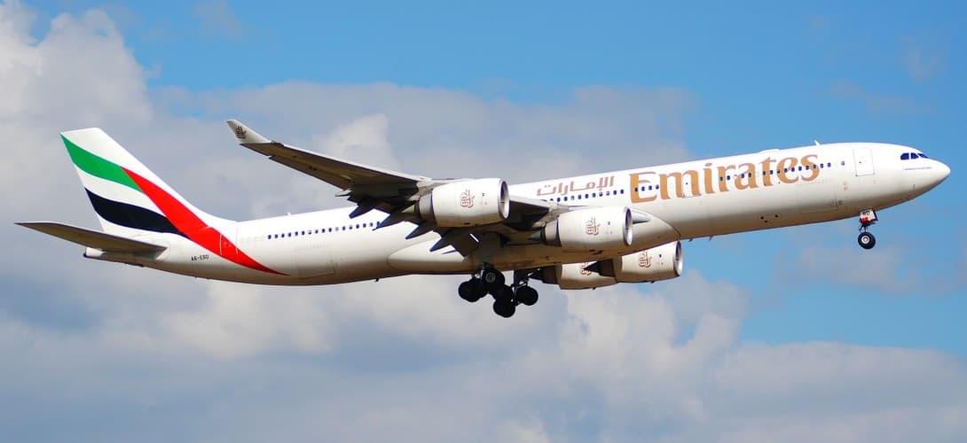Emirates Airbus A340 500
