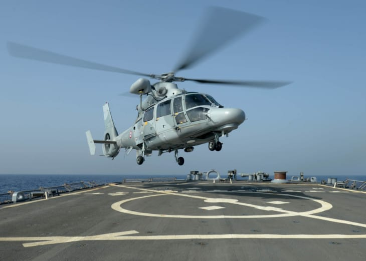 Eurocopter AS565 Panther helicopter