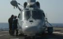 French navy Eurocopter AS565 Panther helicopter