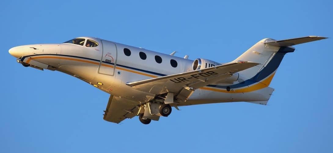 Hawker Beechcraft 390 Premier IA.