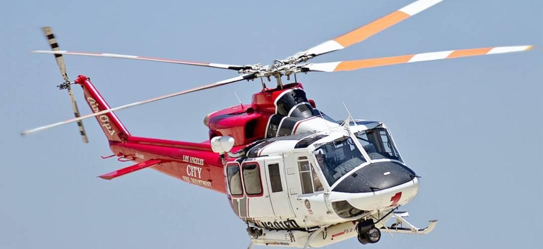 LAFD Bell 412