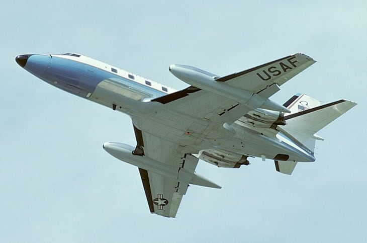 Lockheed VC 140B JetStar