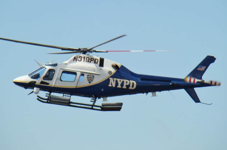 NYPD A119 helicopter