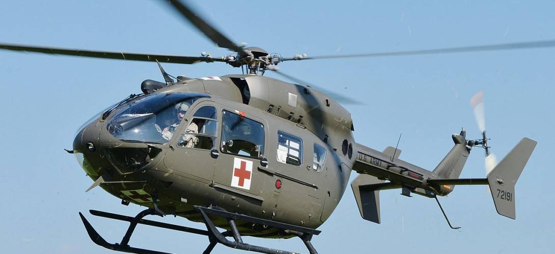 Nebraska Army National Guard UH 72 Lakota