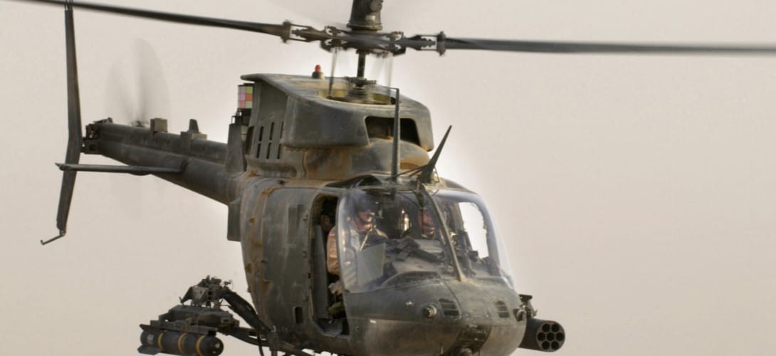OH 58D Kiowa