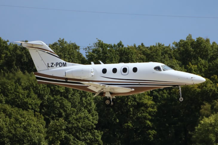 Raytheon Beechcraft 390 Premier 1A Topjets