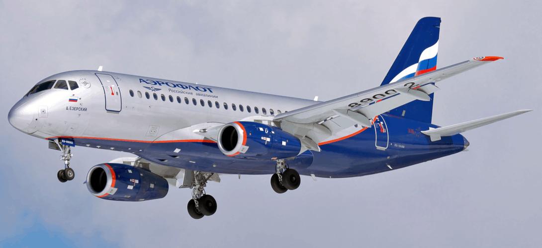 Russian Airlines Sukhoi Superjet 100 95