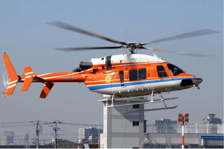 Shin Nihon Helicopter Bell 427