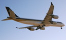 Singapore Airlines Airbus A340 500.