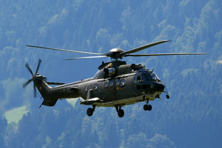 Swiss Air Force Eurocopter AS532UL Cougar T 339