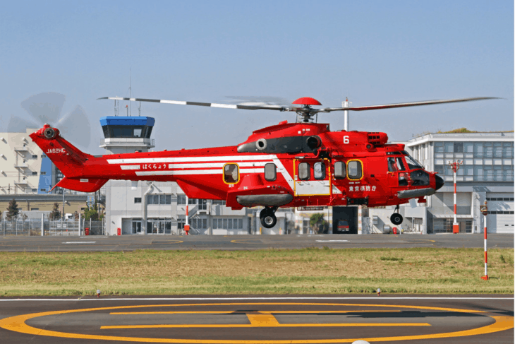 Tokyo Fire Department Airbus Helicopters H225