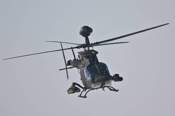 U.S. Army OH 58D Kiowa