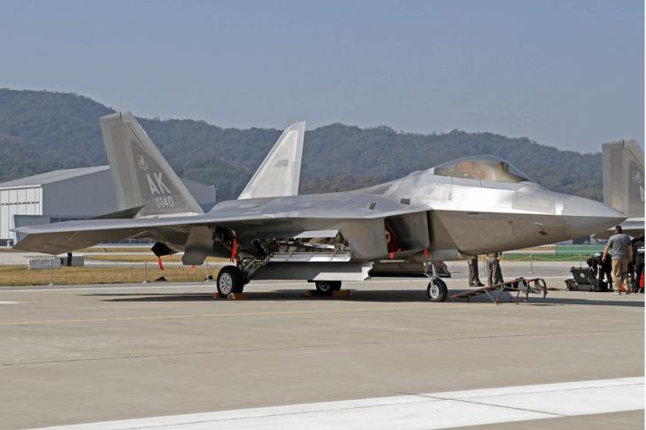 United States Air Force Lockheed Martin F 22A Raptor