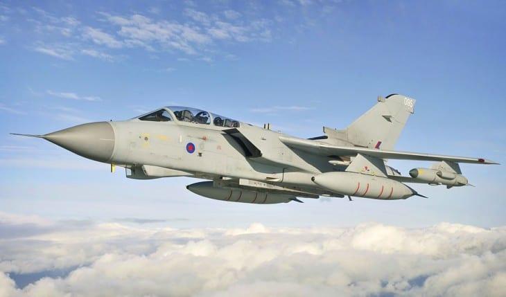 Tornado GR4 training for deployment to Afghanistan.
