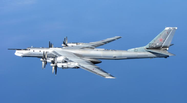 A Russian Tu 95 Bear