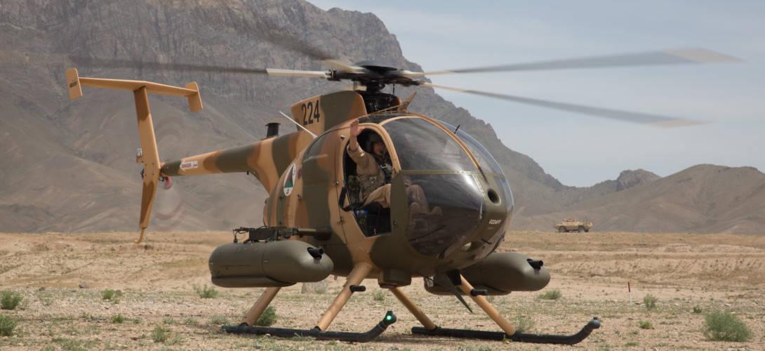 Afghan Air Force MD 530F