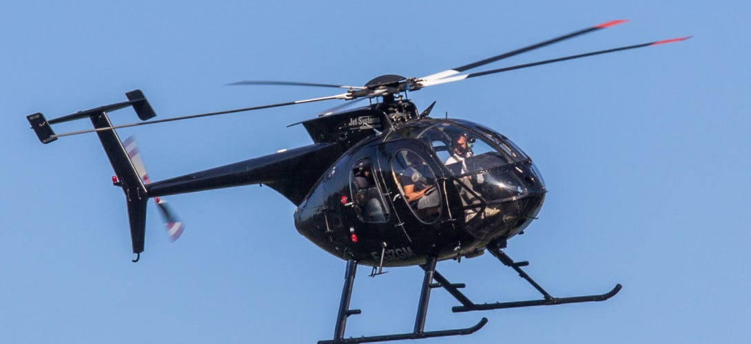 Helicopter McDonnell Douglas MD500E