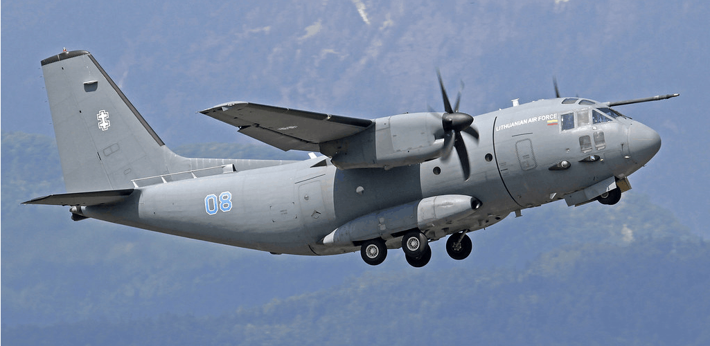 Lithuanian Air Force Alenia C 27J Spartan 08