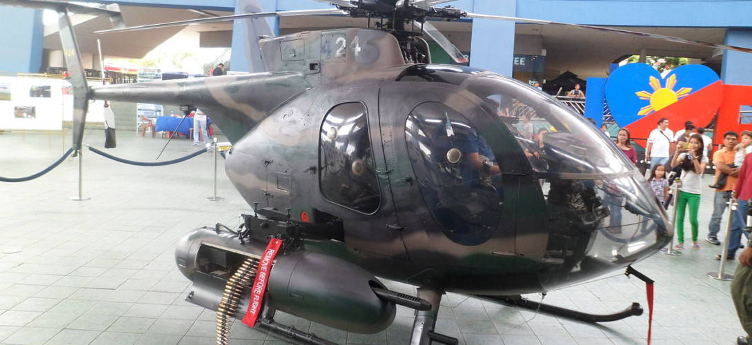 MD 520MG Defender Philippine Air Force